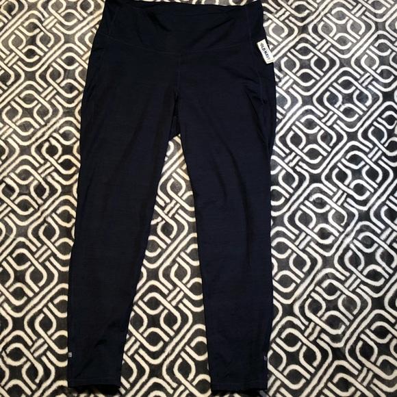 f93d209ae492bf Old Navy Pants | Highrise Zippocket 78length Street Leggings | Poshmark